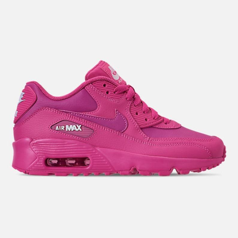 c19ae5b5e4 Swarovski Pink Nike Air Max Girls Shoes | Etsy