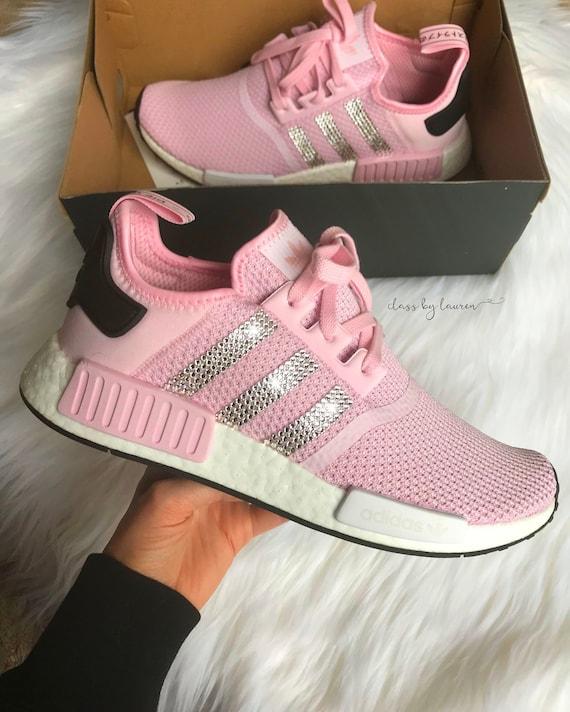 Swarovski Adidas NMD Pink   Etsy