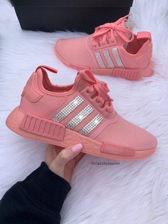 Swarovski Adidas NMD Pink | Etsy