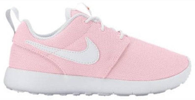 cc410fe90b2e Swarovski Pink Nike Roshe Girls Shoes