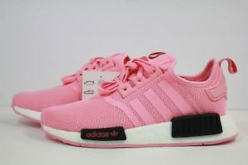 super popular b1d87 51d41 Swarovski Adidas NMD Pink