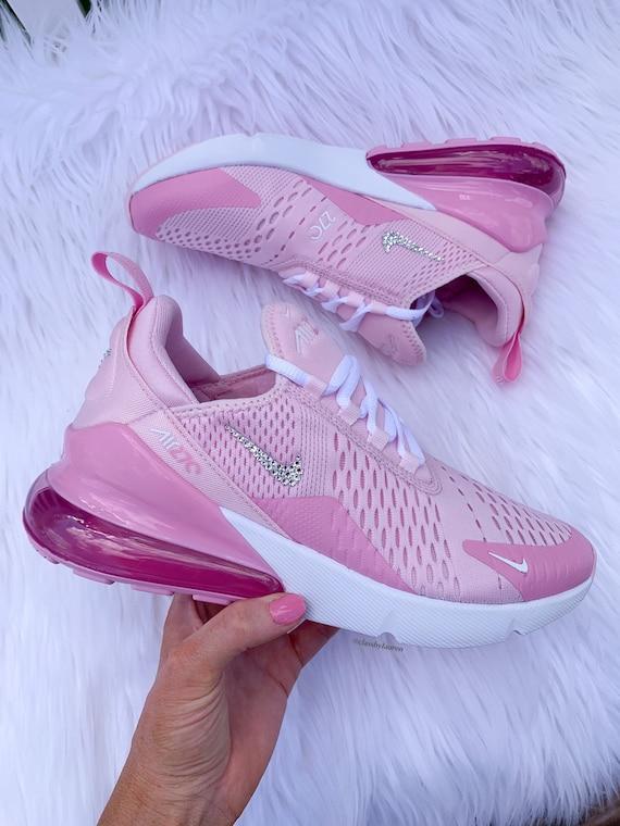 Swarovski Pink Nike 270   Etsy