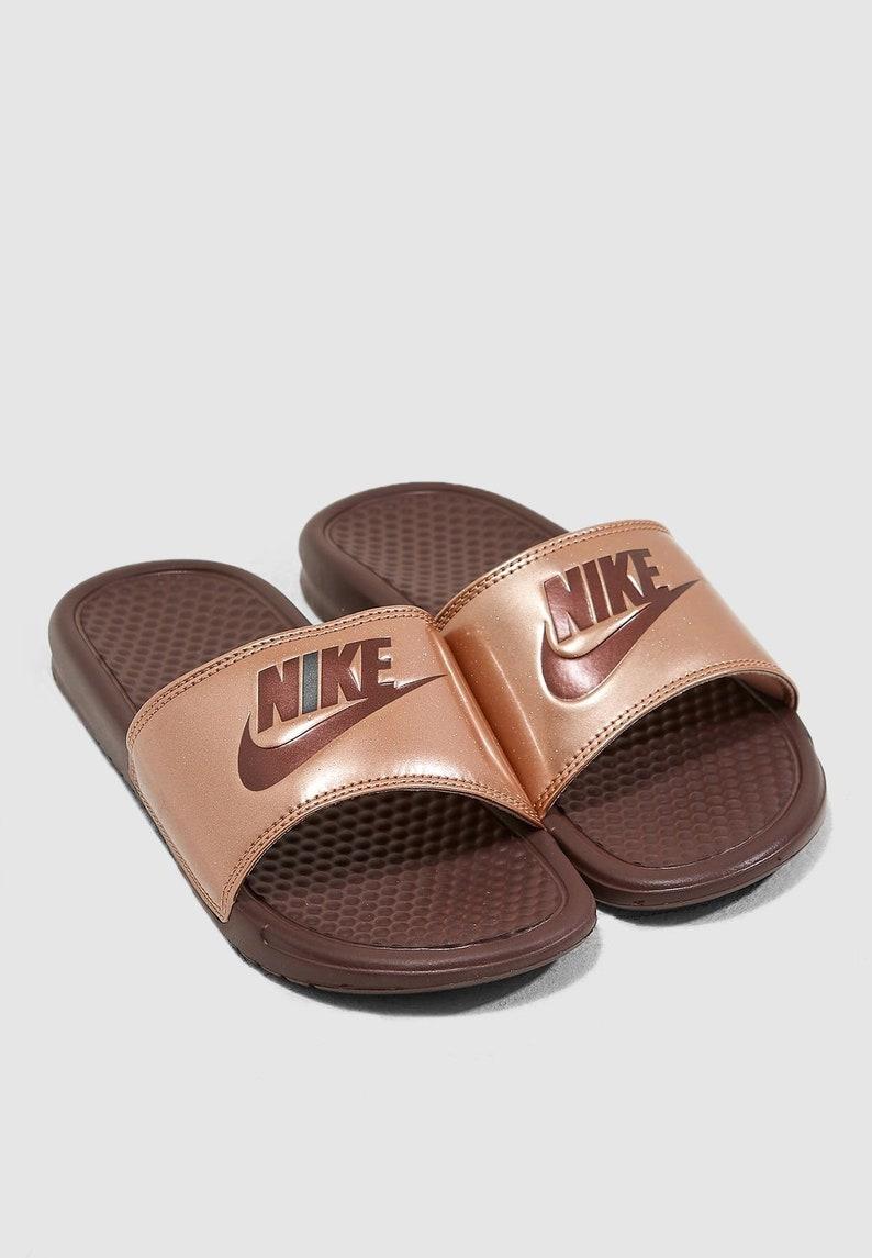 d3d170bc9 Swarovski Nike Benassi Slides