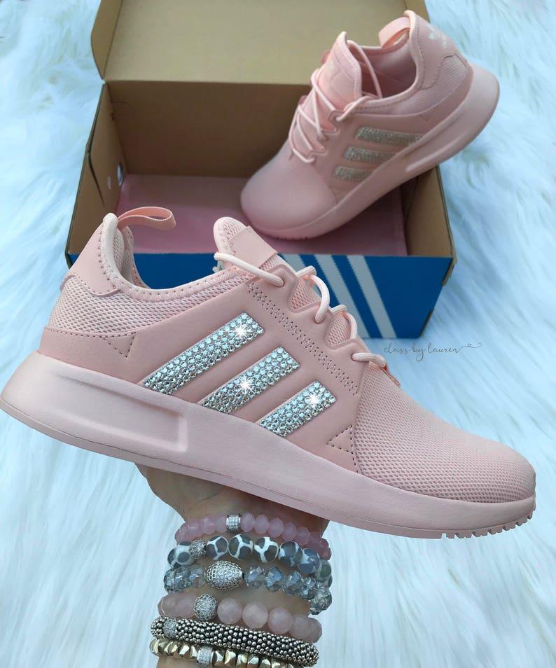 Pink Swarovski Adidas Originals XPLR Girls Womens Shoes  1eeeafa7f