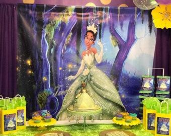 Princess Tiana Party Etsy