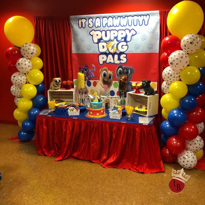 Puppy Dog Pals Party Vinyl Banner