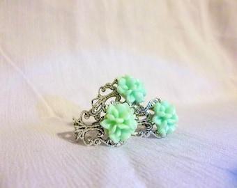 Antique Silver Bouquet Rings