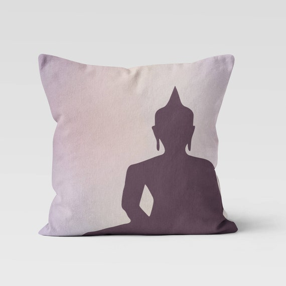 Buddha Throw Pillow Decorative Pillow Home Decor Pillow Beauteous Buddha Decorative Pillows