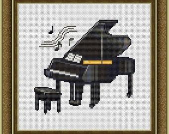 Картинки пианино анимации
