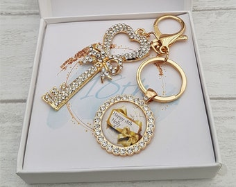 Twenty First Birthday Jewelry Birthday Gift for Women 21st Birthday Keychain
