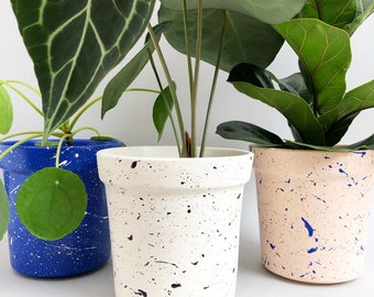 Ceramic plant pot | Etsy