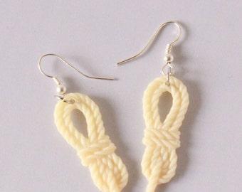 Clue Rope Token Earrings