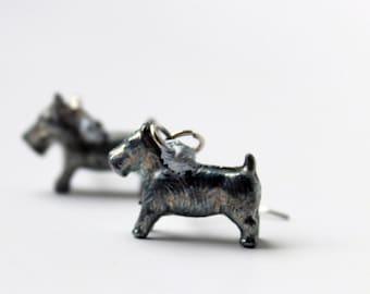 Monopoly Dog Token Earrings