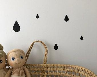 Raindrop Wall Decals