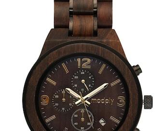 Wood Watch For Men, Engraved Watch, Groomsmen Watch, Best Man Watch, Mens Gift, Wedding Watch, Men Accessories, Unique Gift For Him, Custom