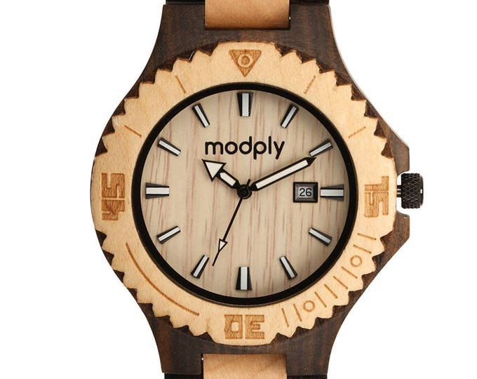 Personalized Wood Watch For Men Engraved Wood Watch Custom Watch For School Unique Watch Perfect For Gift For Men Watch Band Wrist Analog