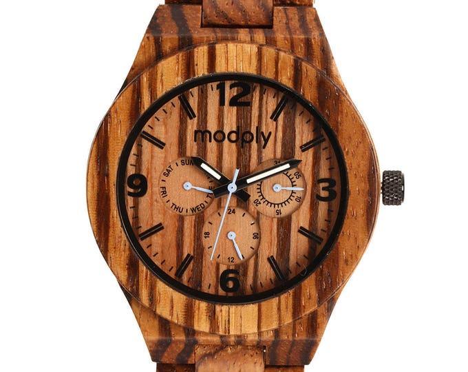 Engraved Watch, Personalized Gift, Wood Watch, Custom Watch, Men Wrist Watch, Unique Watch, Graduation Gift, Battery Watch, Wood Jewelry