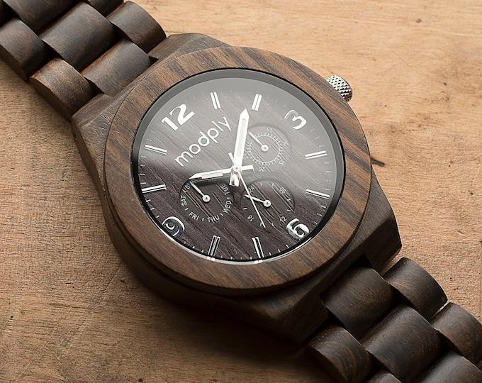 Watches For Men, Dad Gift, Engraved Wood Watches, Designer Watch, Father Watch, Wood Accessories, Groomsmen Watch, Best Man Watch, Husband