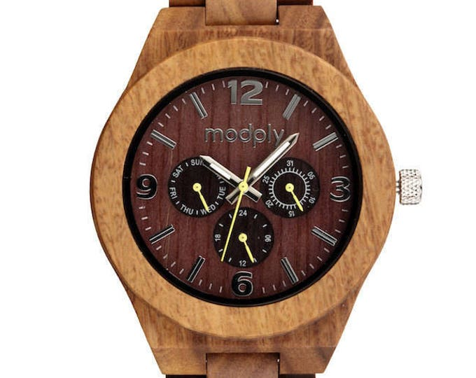 Watch For Men, Personalized Watch, Custom Watch, Wood Watch, Valentines Gift For Him, Wrist Watch, Analog Watch, Unique Gift, Engraved Watch