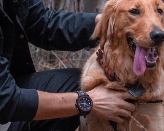 Men Wood Watch, Personalized Watch, Men Watch, Husband Gift, Custom Watch, Christmas Gift For Men Wrist Watch, Analog Watch Gift, Monogram