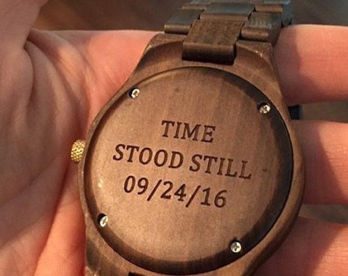 Groomsmen Watch Set (4-16 Watches), Groomsmen Gift, Father Of The Bride Gift, Groom Watch, Best Man Watch, Wedding Watches Set, Wood Watches