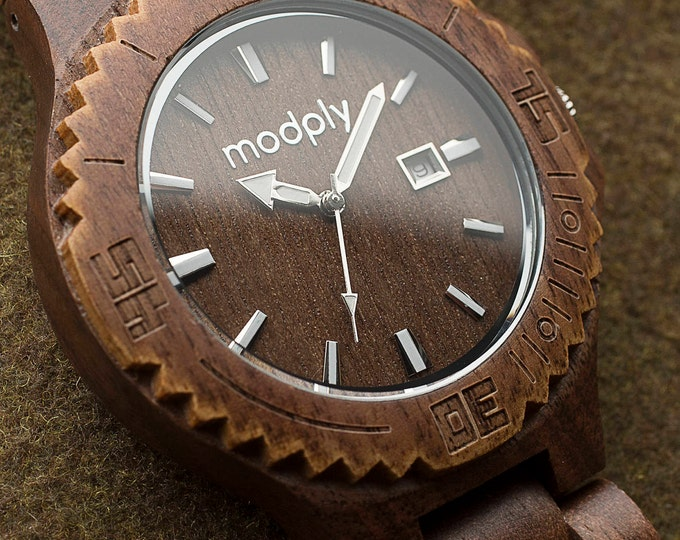 Groom Gift From Bride, Best Man Watch, Groomsmen Watch, Wedding Watch, Engraved Watch, Wood Watch, Gift For Him, Custom Personalized Watch