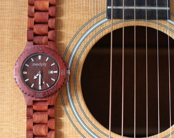 Groomsmen Gift Set, Groom Watches Wood, Set Of 6 Watches, Best Man Watches, Wood Engraved Watches, Wedding Watches Set, Boss Day Gift