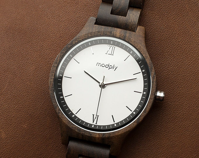 Wooden Watch For Women, Gift From Daughter, Personalized Wooden Watch, Men Wooden Watch, Personalized Gift, Initials Watch, Designer Watch