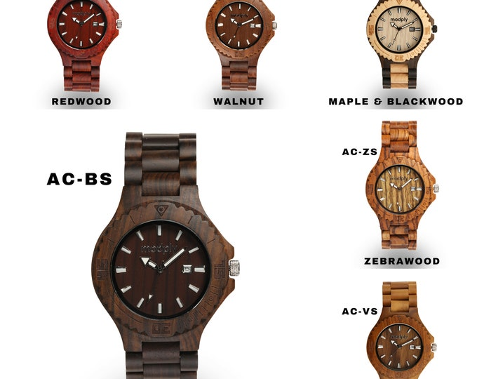Groomsmen Watch, Engraved Wood Watch, Father Of The Bride Gift, Personalized Watch, Custom Watch, Groomsmen Proposal Gift, Groom Watch