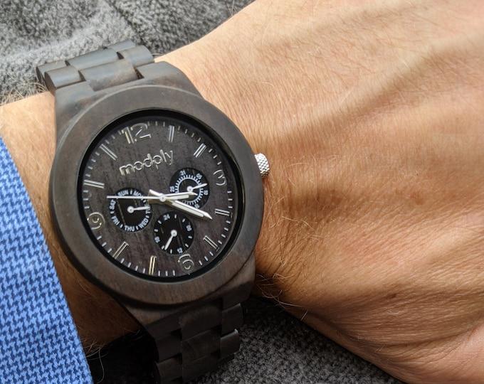 Personalized Gift, Wood Watch, Groomsmen Watch, Engraved Watch, Dad Watch, Custom Watch, Teacher Gift, Wrist Watch, Gift For Dad, Men Gift