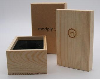 Wooden Gift Box, Wood Watch Box, Jewelry Box, Groomsmen Watch Box, Pine Watch Box, Father Of The Bride Box Gift, Wooden Box Gift, Wedding