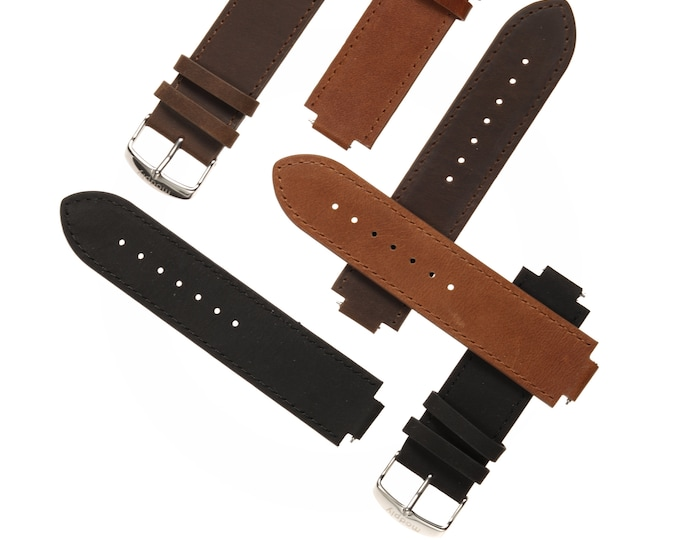Womens Replacement Leather Watch Band, Men Watch Band, Leather Watch Strap, Watch Accessories, Handmade Watch Strap, Brown Watch Band