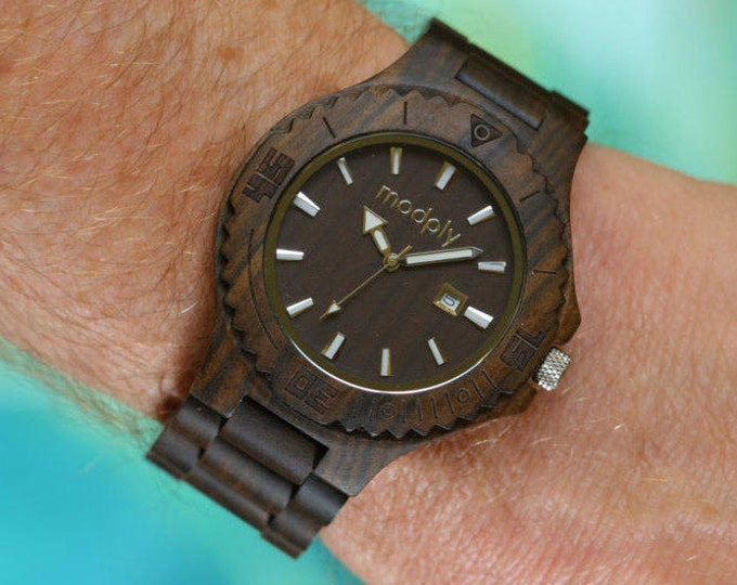 Wood Watch, Personalized Watch, Men Watch, Husband Gift, Custom Watch, Analog Watch, Dad Watch, Daddy Gift, Men Accessory, Designer Watch