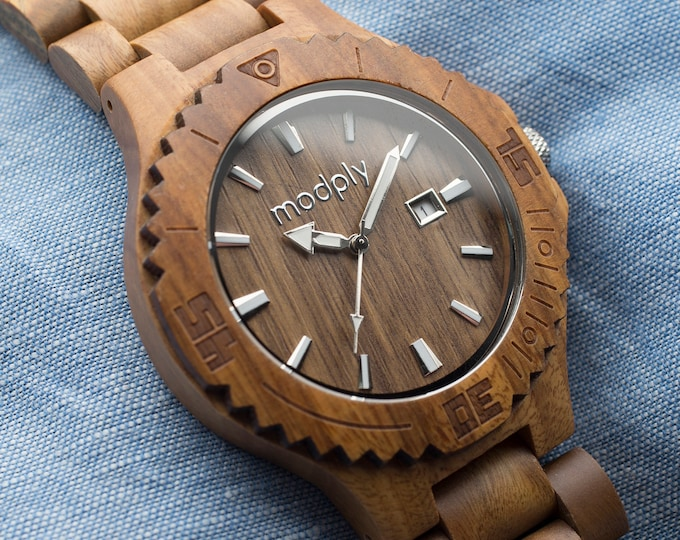 8 Groomsmen Watches Set, Wood Watches, Best Man Gift, Father Of The Bride Watch, Wedding Watches, Groomsmen Proposal, FREE ENGRAVING