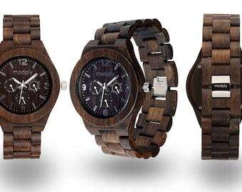 Graduation Gift Watch, Wooden Watch, Men Watch, Engraved Wood, Personalized Watch, Custom Watch, Gift For Him, Initials Watch, Groom Watch