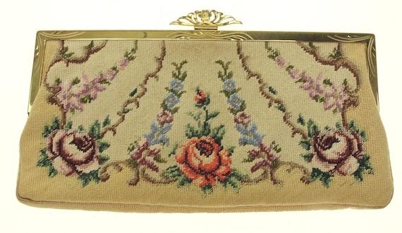 Bag Tapestry Wallet Tapestry Make-up Bag Embroide… - image 1