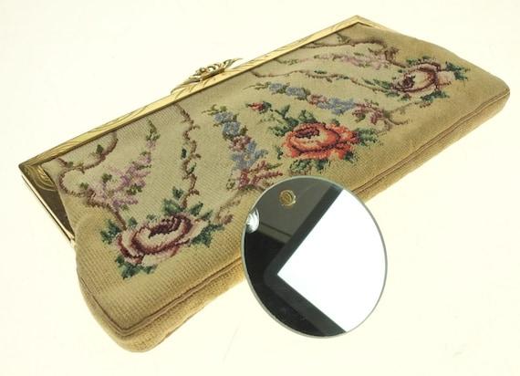 Bag Tapestry Wallet Tapestry Make-up Bag Embroide… - image 8