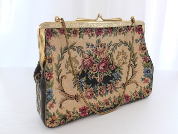 Bag Handbag Tapestry Wallet Tapestry Make-Up Bag E