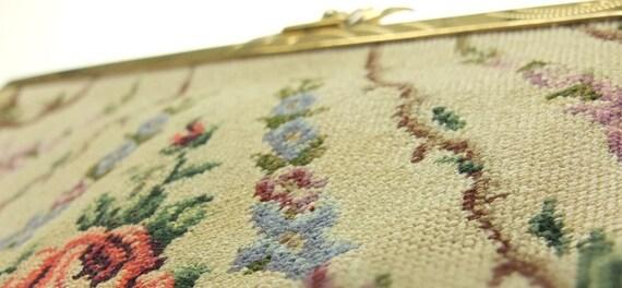 Bag Tapestry Wallet Tapestry Make-up Bag Embroide… - image 3