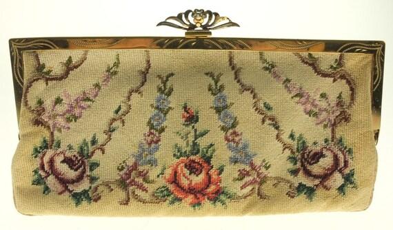 Bag Tapestry Wallet Tapestry Make-up Bag Embroide… - image 9