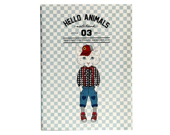 Hello Animals 03 | Cool Kid