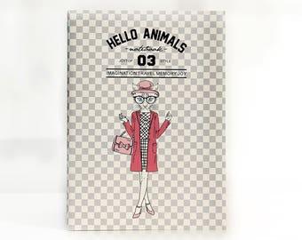 Hello Animals 03 | Fashion Lady