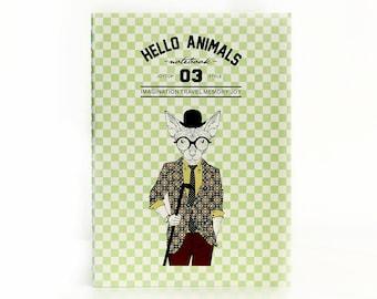 Hello Animals 03 | Hat Cat