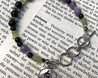 Bad Witch Beaded Bracelet