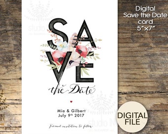 Wedding Save The Dates | Etsy