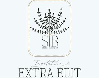 INVITATION  -  Extra edit