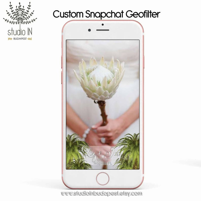 SNAPCHAT GEOFILTER Custom Snapchat Geofilter Wedding image 0