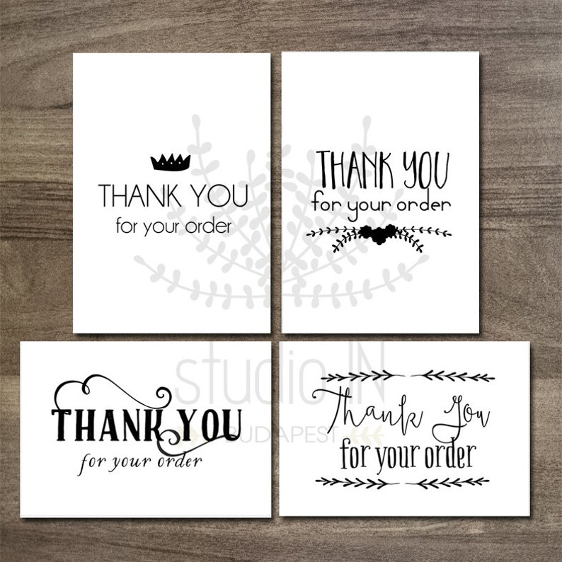 graphic regarding Thank You Printable Tag titled Printable thank your self tags, shopper present tags, printable tags, Etsy vendor thank oneself tag