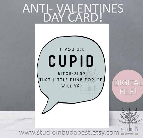 Anti Valentinstag Karte Lustige Karte Lustige Karte Lustige Etsy