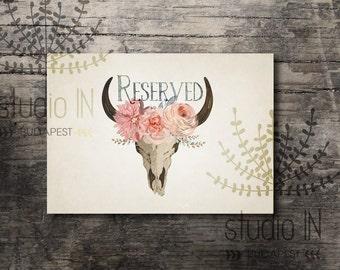 Reserved sign printable, wedding reserved sign, bohemian reserved printable, rustic reserved sign,rustic reserved printable,INSTANT DOWNLOAD